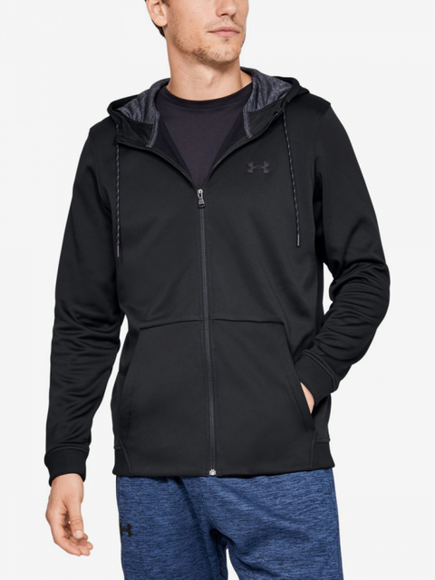 Mikina Under Armour Fleece Fz Hoodie-Blk