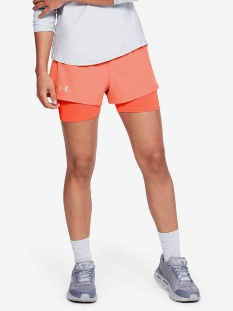 Kraťasy Under Armour Qualifier Speedpocket 2-In-1 Short-Re