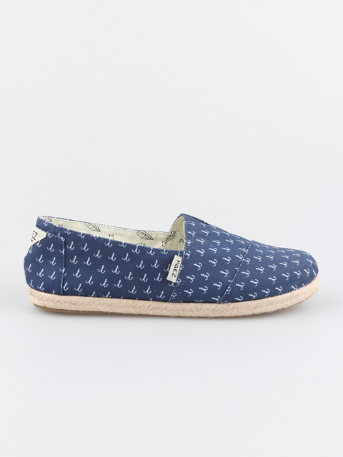 Topánky Paez Classic Print Anchors Navy Blue