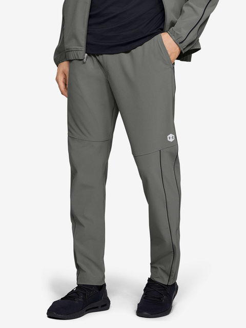 Tepláky Under Armour Athlete Recovery Woven Warm Up Bottom