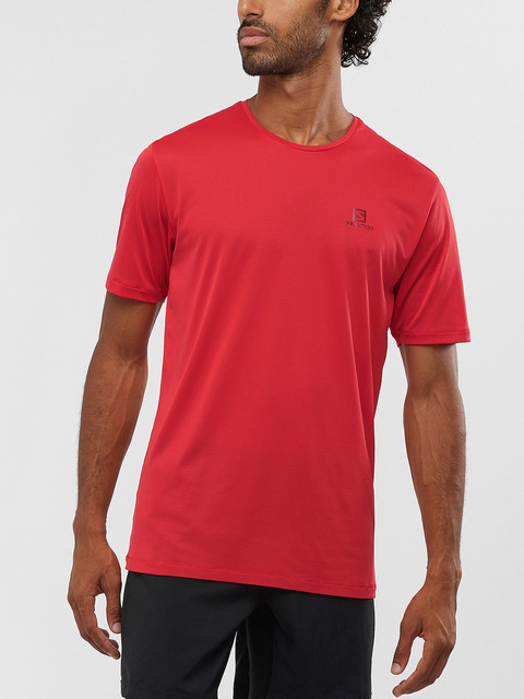 Tričko Salomon Agile Training Tee M Goji Berry