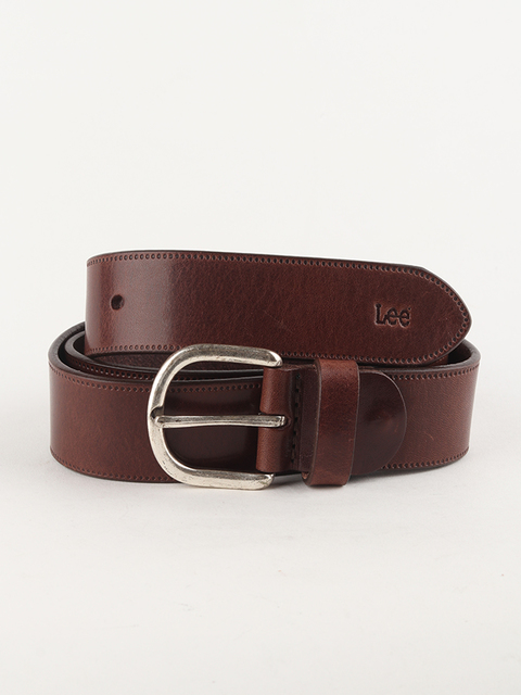 Opasok Lee Belt Dark Brown