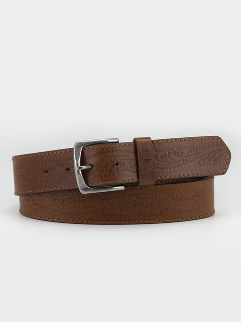 Opasok LEVI'S Tradition Western Embossed Belt