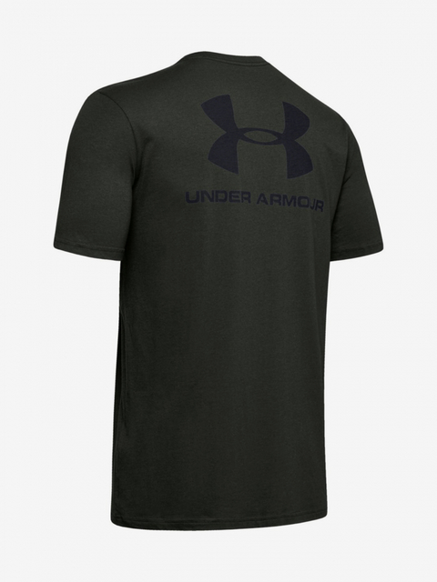 Tričko Under Armour Sportstyle Lc Back Tee-Grn