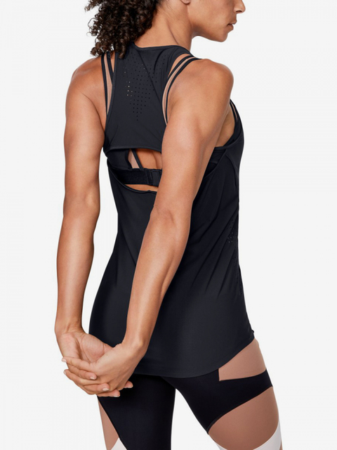 Tielko Under Armour Perpetual Fitted Tank-Blk
