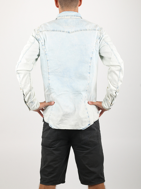 Košeľa Alcott LIGHT BLUE DENIM SHIRT