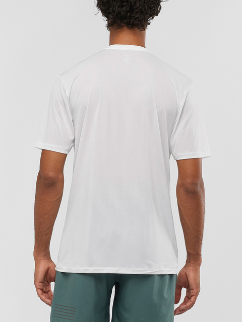 Tričko Salomon Agile Training Tee M White/Heather