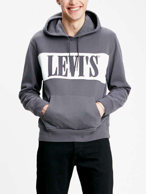 Mikina Levi's® Pieced Pullover Hoodie Pieced Pullover