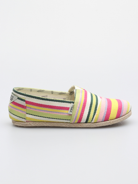 Topánky Paez Classic Yellow Stripes Multicolor