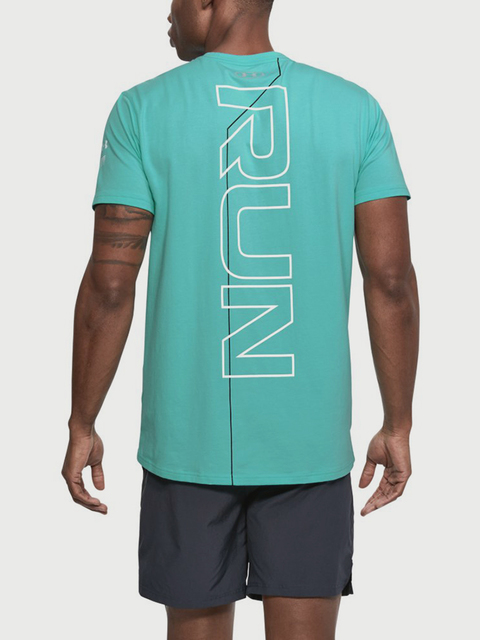 Tričko Under Armour Run Back Graphic SS