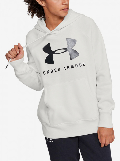 Mikina Under Armour Rival Fleece Sportstyle Graphic Hoodie-W