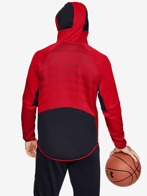 Bunda Under Armour Select Warm Up Jacket-Red