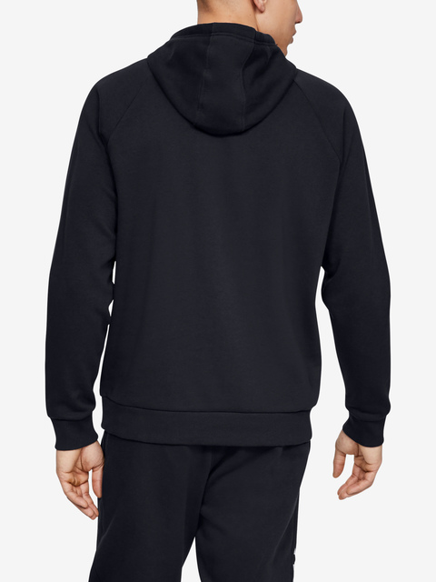 Mikina Under Armour Rival Fleece Sportstyle Logo Hoodie-Blk