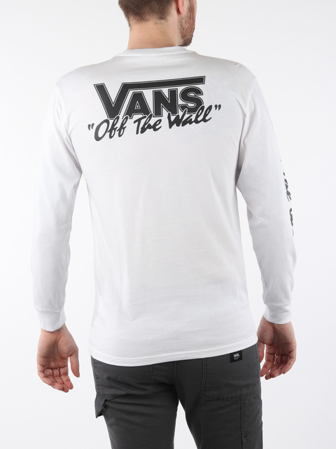 Tričko Vans Mn Bmx Off The Wall White