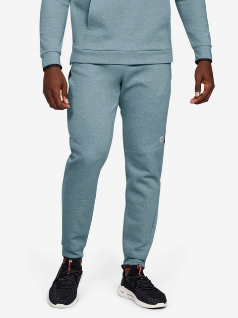 Tepláky Under Armour Athlete Recovery Fleece Pant-Gry