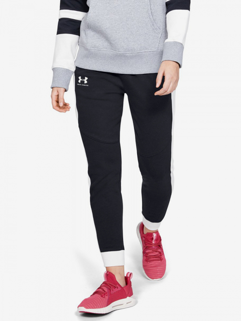 Tepláky Under Armour Rival Fleece Graphic Novelty Pant-Blk