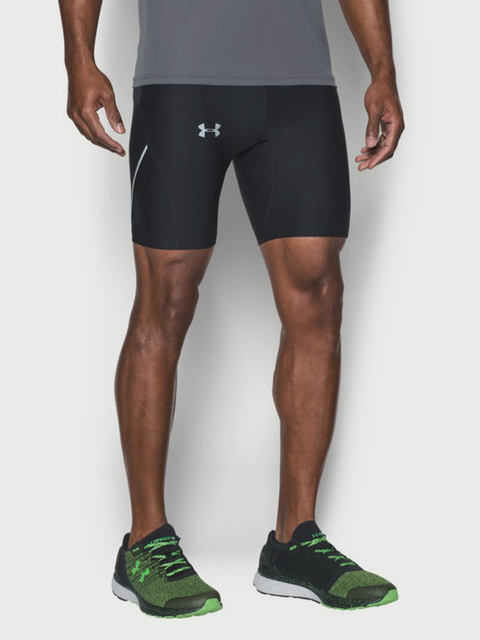 Kompresné šortky Under Armour Run True Heatgear Half Tight