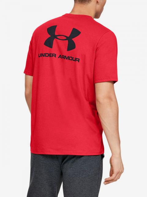 Tričko Under Armour Sportstyle Lc Back Tee-Red