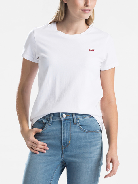 Tričko LEVI'S Perfect Tee White Cn100Xx