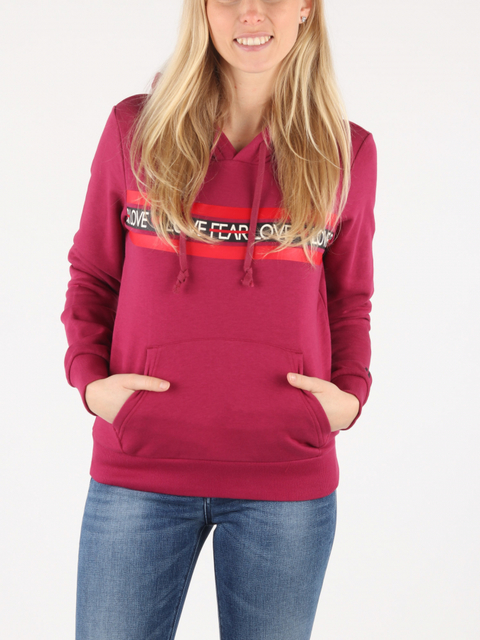Mikina Converse W Love The Progress Hoodie