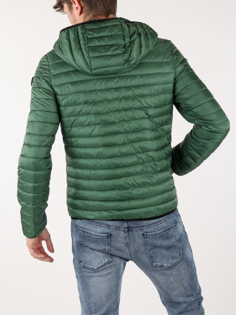 Bunda Trussardi Jacketwith Hood Regular Fit Matt Light Nylon