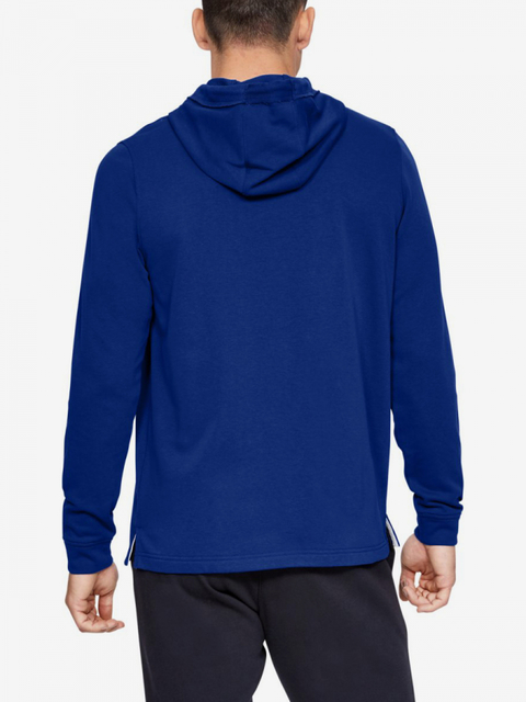 Mikina Under Armour Sportstyle Terry Logo Hoodie-Blu