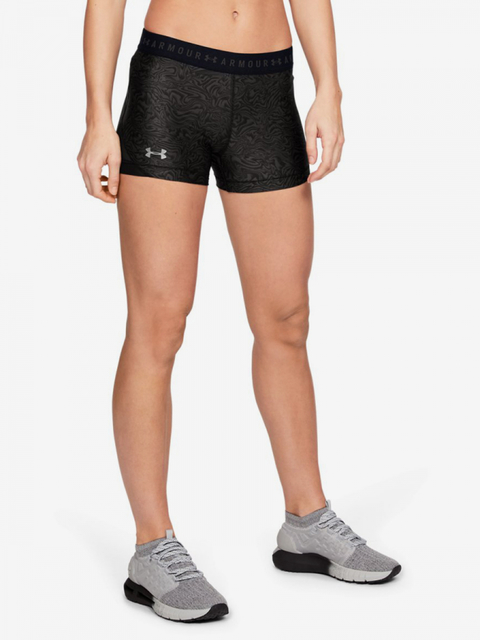Kompresné šortky Under Armour Hg Shorty Print-Gry