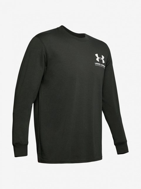 Tričko Under Armour Performance Originators Ls Tee-Grn