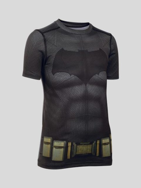 Tričko Under Armour Heatgear Batman Suit SS