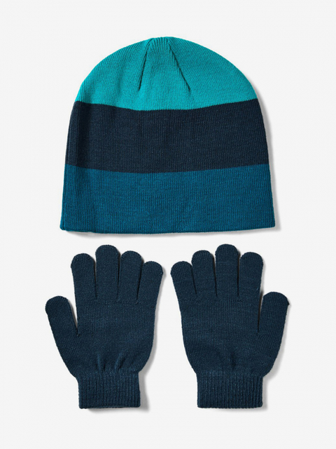 Čiapky a rukavice Under Armour Boys Beanie Glove Combo-Grn