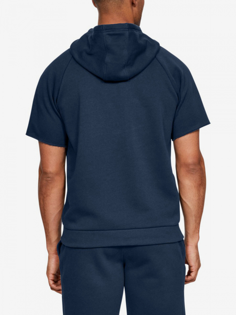 Mikina Under Armour Rival Fleece Logo Ss Hoodie-Nvy