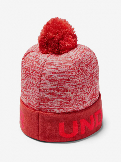 Čapica Under Armour Boy'S Gametime Pom Beanie-Red