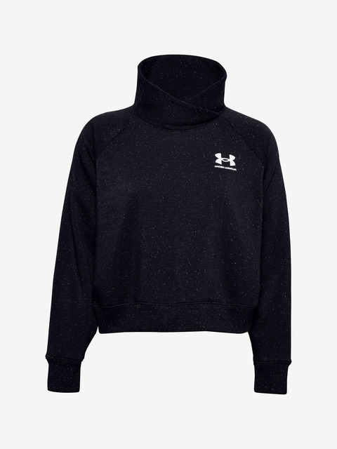 Rival Fleece Wrap Neck Mikina Under Armour