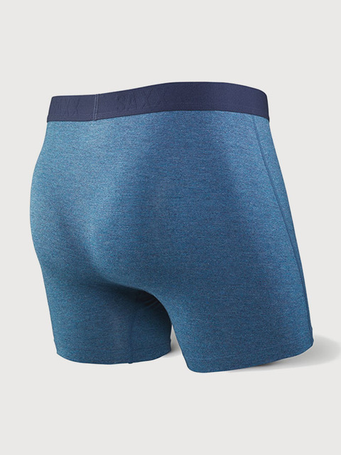 Boxerky Saxx Ultra Boxer Brief Fly Indigo