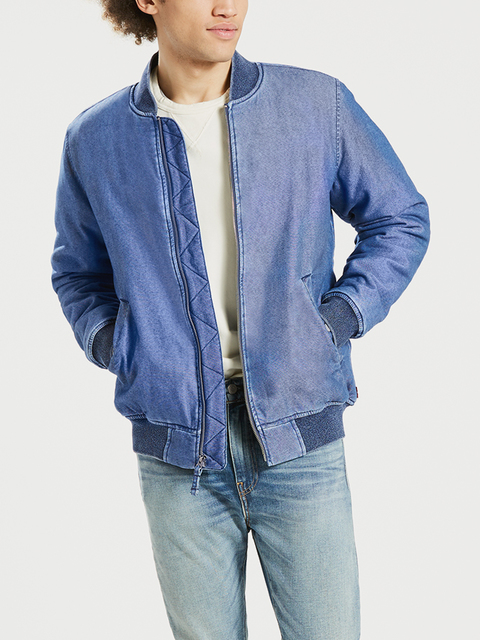Bunda LEVI'S Thermore Bomber Bafang Red Cast