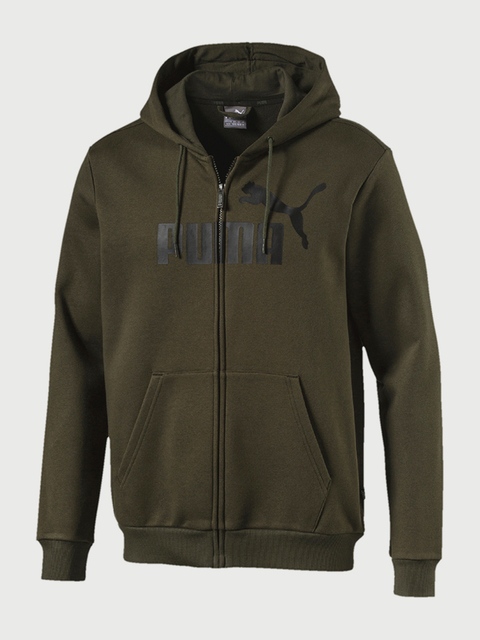 Mikina Puma Essentials Fleece Hooded Jkt