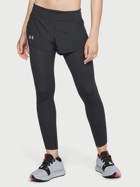 Kompresné legíny Under Armour SpeedPocket 2-in-Runner Crop