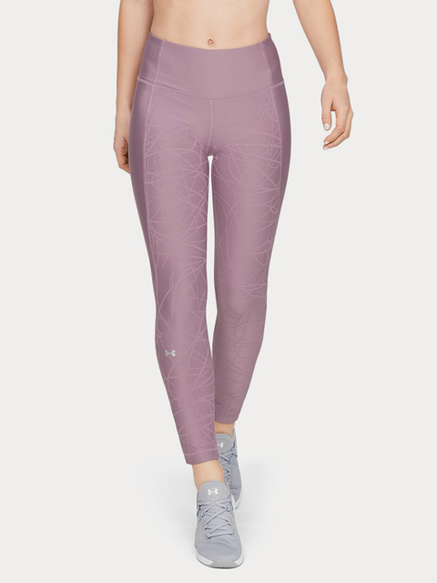 Kompresné legíny Under Armour Hg Ankle Crop Jacqrd