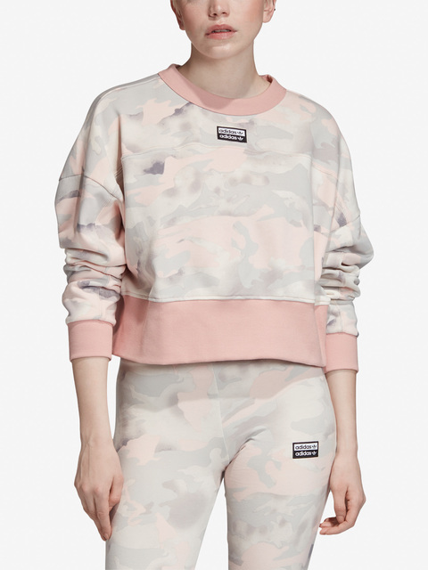 Mikina adidas Originals Cropped Sweater