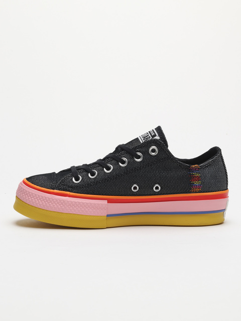 Topánky Converse Chuck Taylor All Star Lift Rainbow