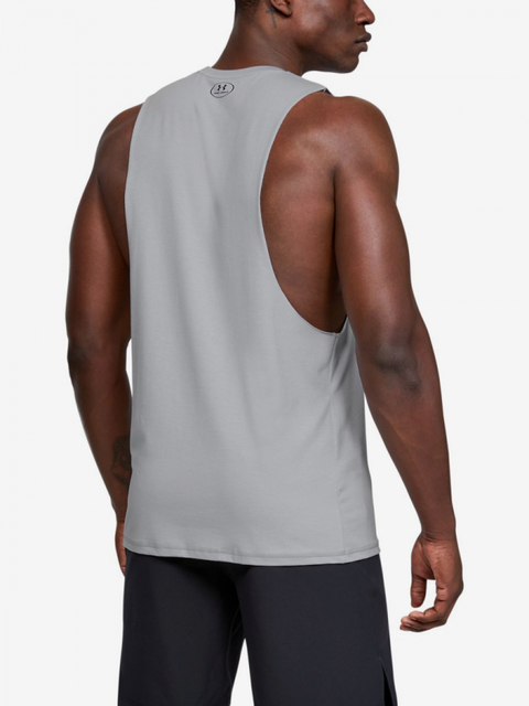 Tielko Under Armour Project Rock Blood Sweat Respect Tank-Grey