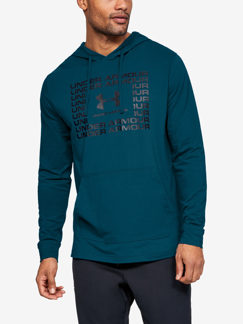 Mikina Under Armour Sportstyle Cotton Hoodie-Grn