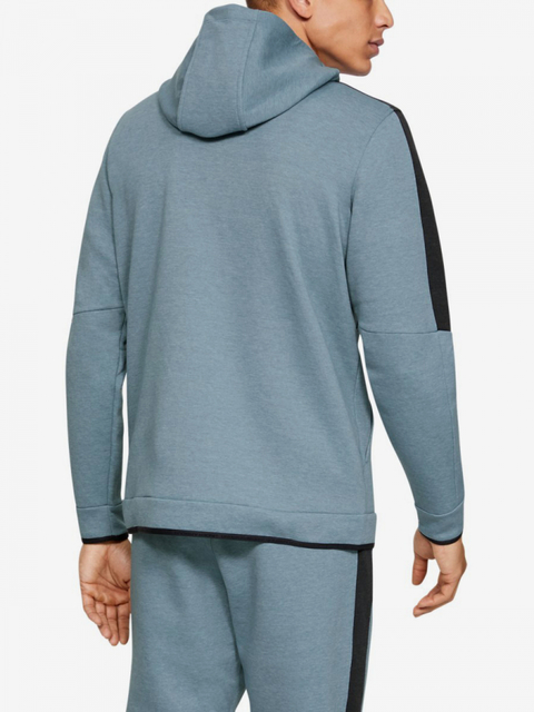 Bunda Under Armour Athlete Recovery Fleece Full Zip-Gry