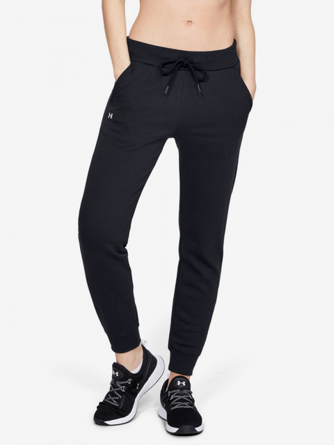 Tepláky Under Armour Rival Fleece Solid Pants-Blk