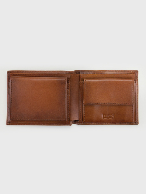 Peňaženka LEVI'S Inlay Bifold Clean Finish