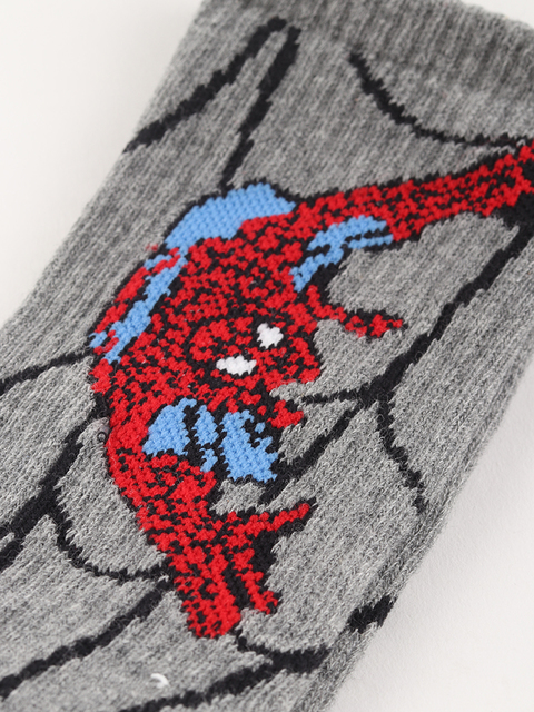 Ponožky Vans BY X (Marvel) Spiderman Crew Heather Grey