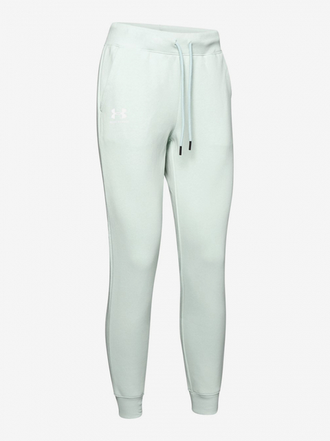 Tepláky Under Armour Rival Fleece Sportstyle Graphic Pant-Grn