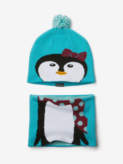 Čapica Columbia Youth Snow More Hat and Gaiter Set