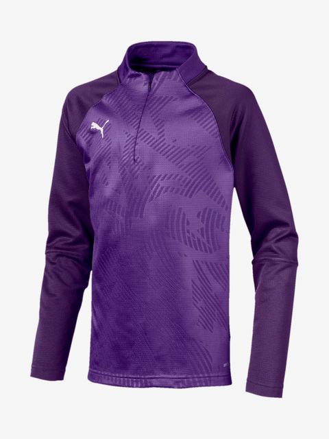 Mikina Puma Cup Training 1 4 Zip Core Jr