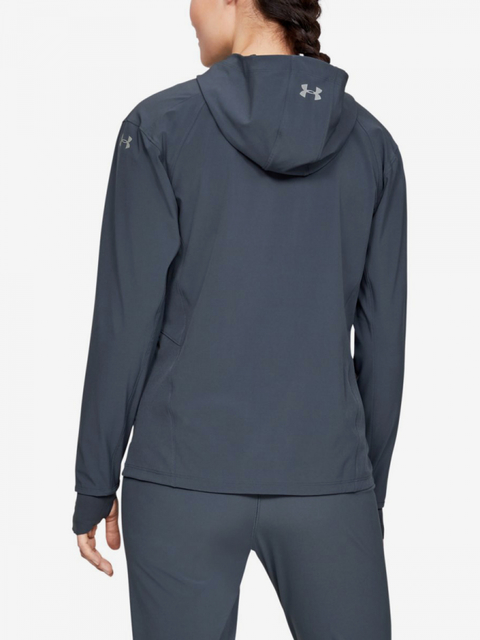 Bunda Under Armour Outrun The Storm Jacket-Gry